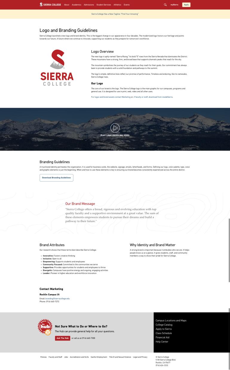 Sierra branding